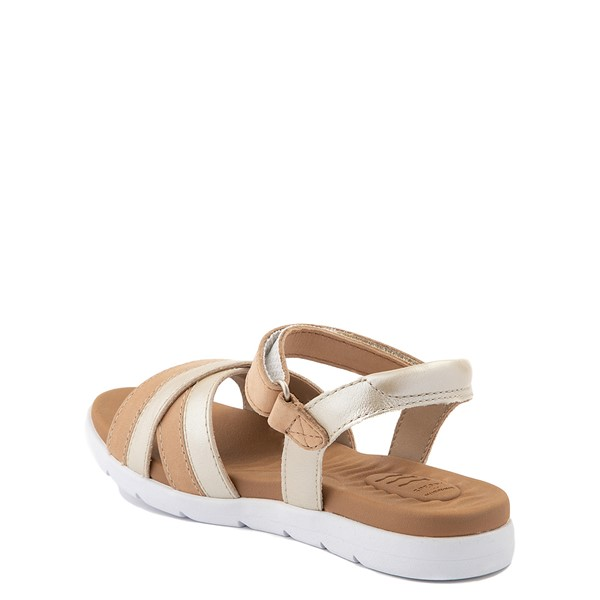 alternate view Sperry Top-Sider Leeway PlushWave Sandal - Little Kid / Big Kid - GoldALT1