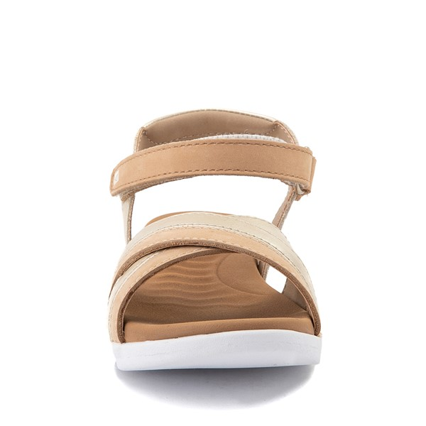 alternate view Sperry Top-Sider Leeway PlushWave Sandal - Little Kid / Big Kid - GoldALT4