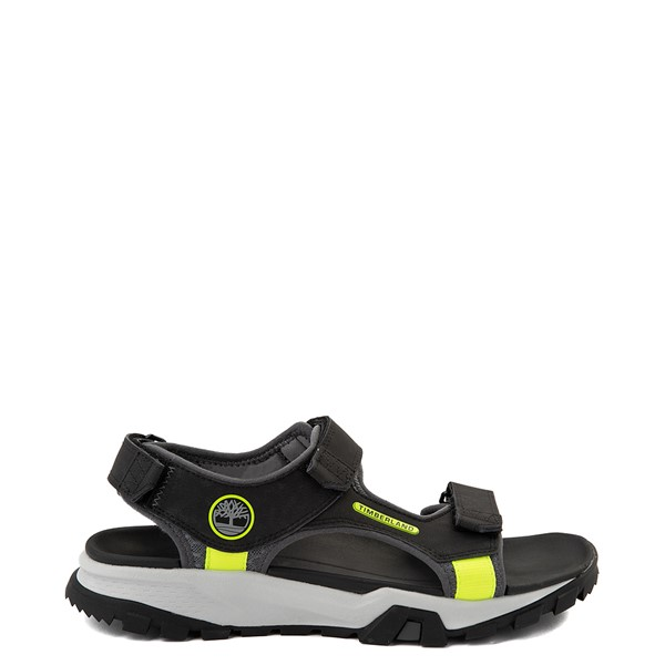 Main view of Mens Timberland Garrison Trail Sandal - Black