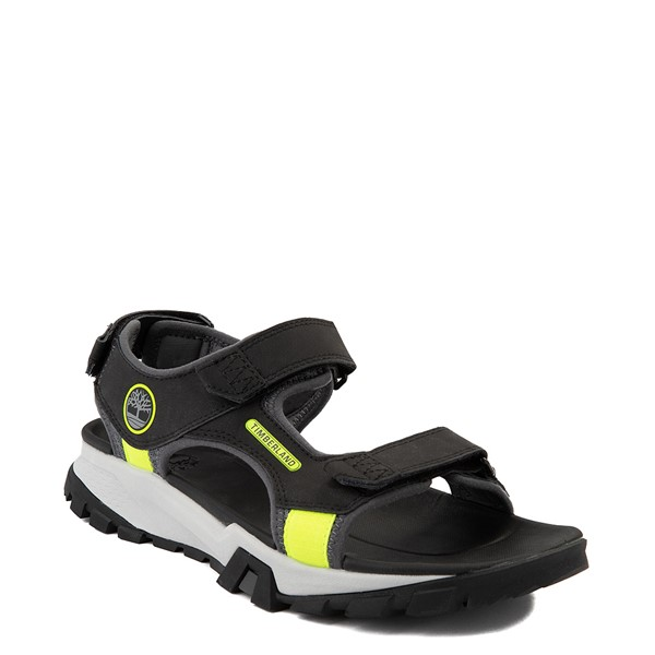 alternate view Mens Timberland Garrison Trail Sandal - BlackALT5