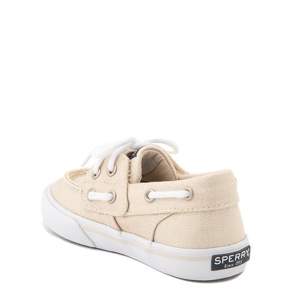 alternate view Sperry Top-Sider Bahama Boat Shoe - Toddler / Little Kid - ChampagneALT1