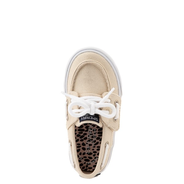 alternate view Sperry Top-Sider Bahama Boat Shoe - Toddler / Little Kid - ChampagneALT2