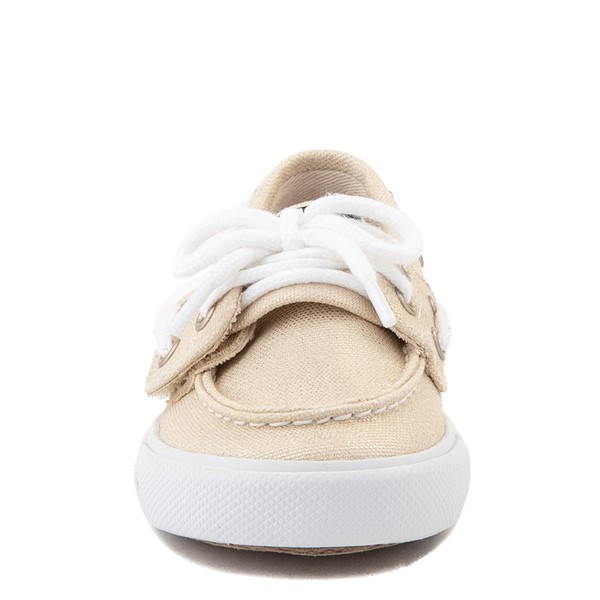 alternate view Sperry Top-Sider Bahama Boat Shoe - Toddler / Little Kid - ChampagneALT4