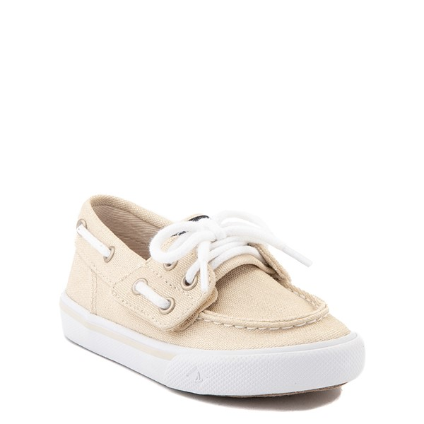 alternate view Sperry Top-Sider Bahama Boat Shoe - Toddler / Little Kid - ChampagneALT5