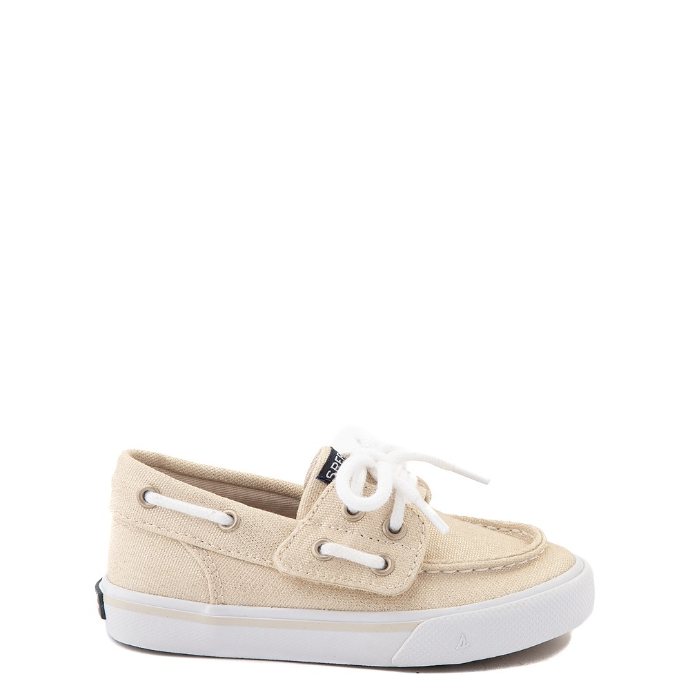 Sperry Top-Sider Bahama Boat Shoe - Toddler / Little Kid - Champagne