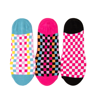 Alternate view of Womens Vans Zoo Check Canoodle Liners 3 Pack - Multicolor
