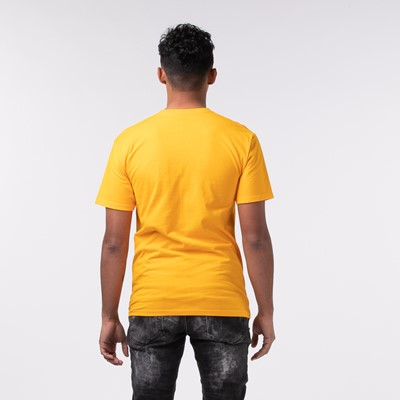 Alternate view of Mens Vans Box Logo Tee - Saffron