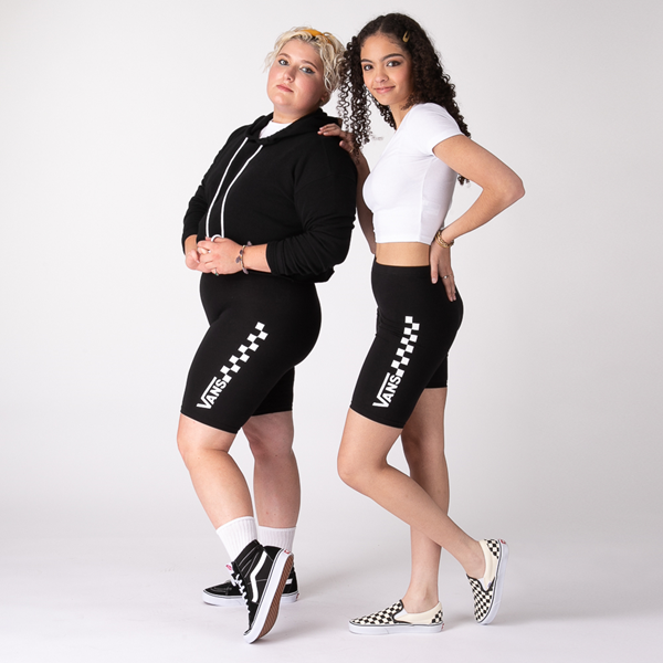 Womens Vans Chalkboard Legging Shorts - Black