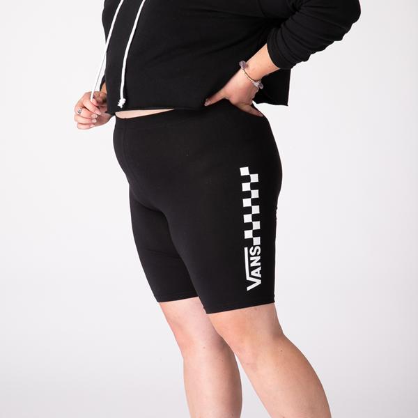 alternate view Womens Vans Chalkboard Legging Shorts - BlackALT3