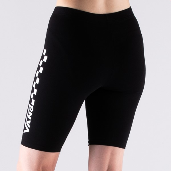 alternate view Womens Vans Chalkboard Legging Shorts - BlackALT5B