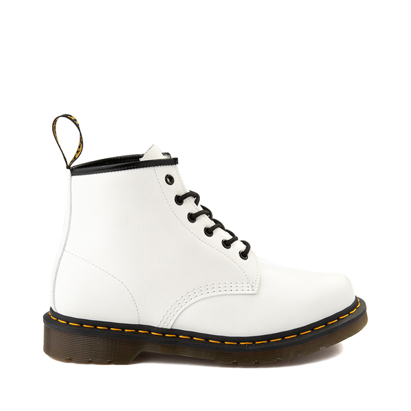 Main view of Dr. Martens 101 6-Eye Boot - White