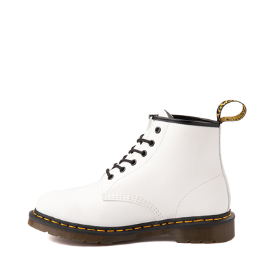 Alternate view of Dr. Martens 101 6-Eye Boot - White