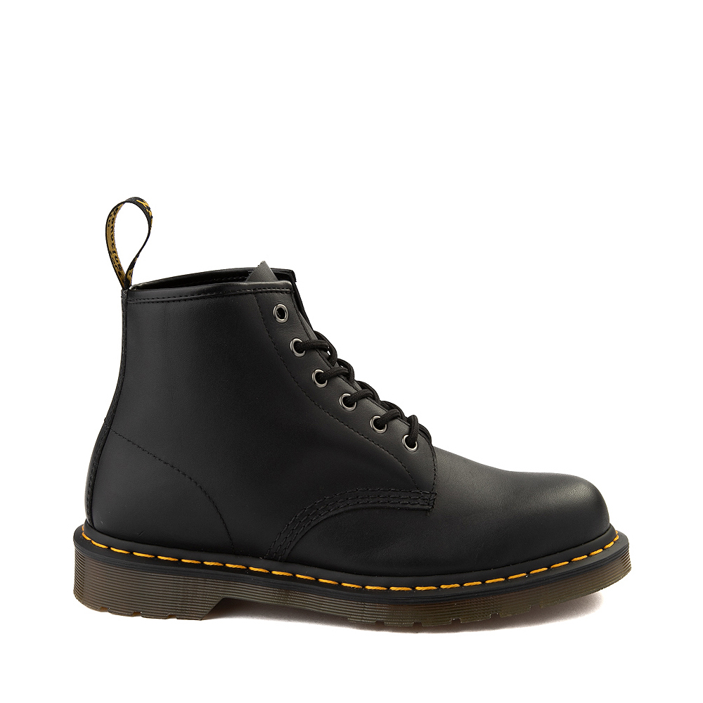 Dr. Martens 101 6-Eye Boot - Black