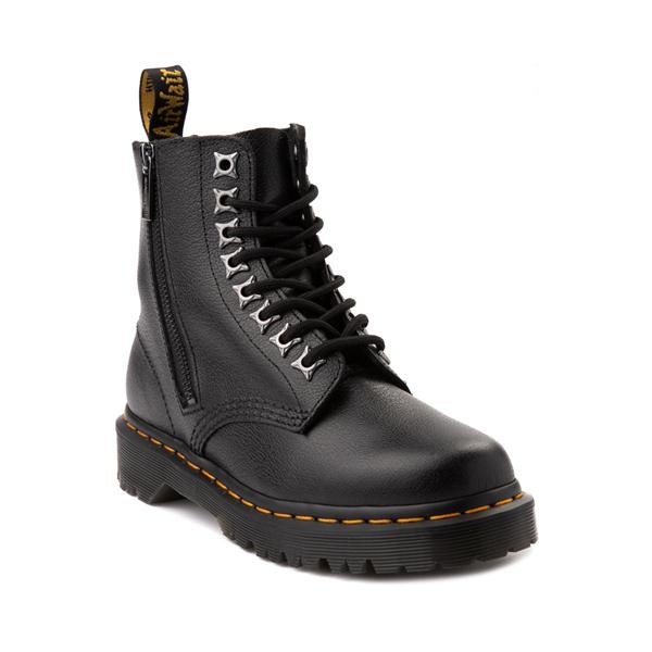 alternate view Dr. Martens 1460 Pascal Zipper Boot - BlackALT5