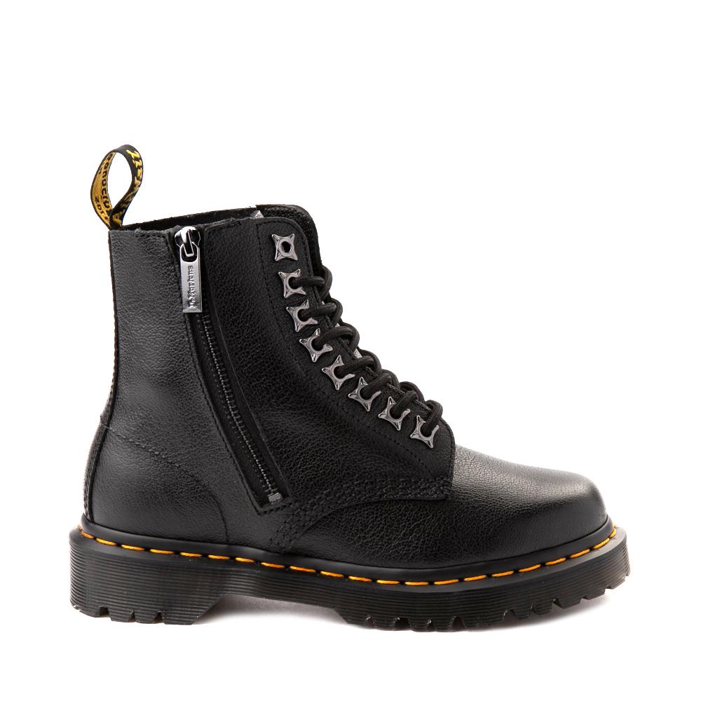 Dr. Martens 1460 Pascal Zipper Boot - Black
