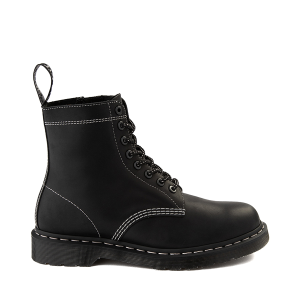 Main view of Dr. Martens 1460 Pascal Zipper Boot - Black