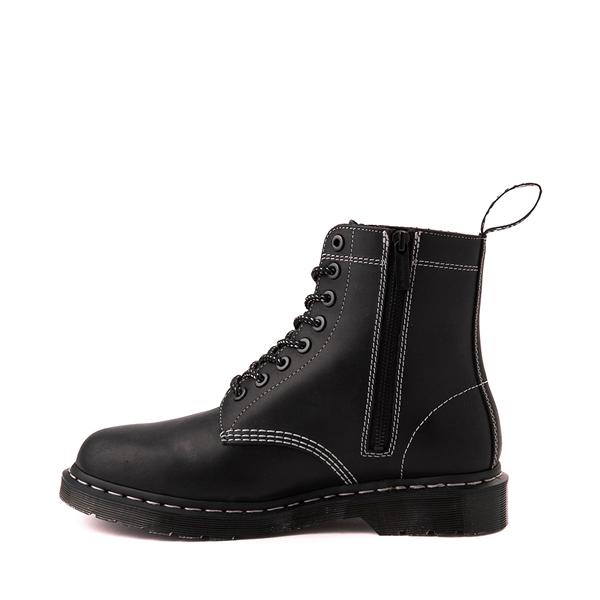 alternate view Dr. Martens 1460 Pascal Zipper Boot - BlackALT1
