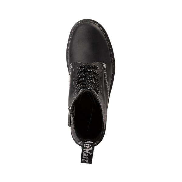 alternate view Dr. Martens 1460 Pascal Zipper Boot - BlackALT2