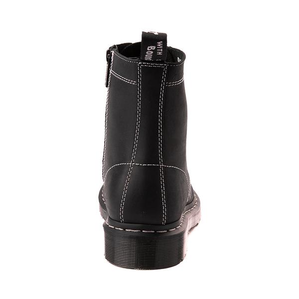 alternate view Dr. Martens 1460 Pascal Zipper Boot - BlackALT4