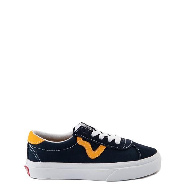 Main view of Vans Sport Skate Shoe - Little Kid - Dress Blues / Saffron