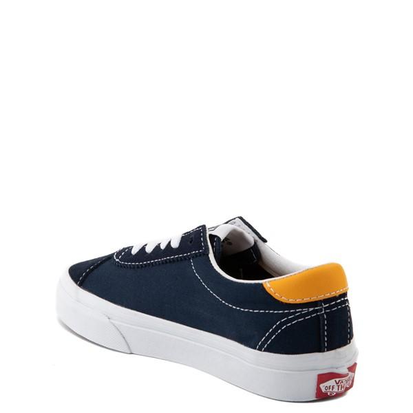 alternate view Vans Sport Skate Shoe - Little Kid - Dress Blues / SaffronALT1