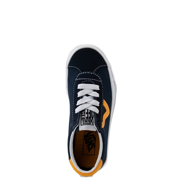 alternate view Vans Sport Skate Shoe - Little Kid - Dress Blues / SaffronALT2