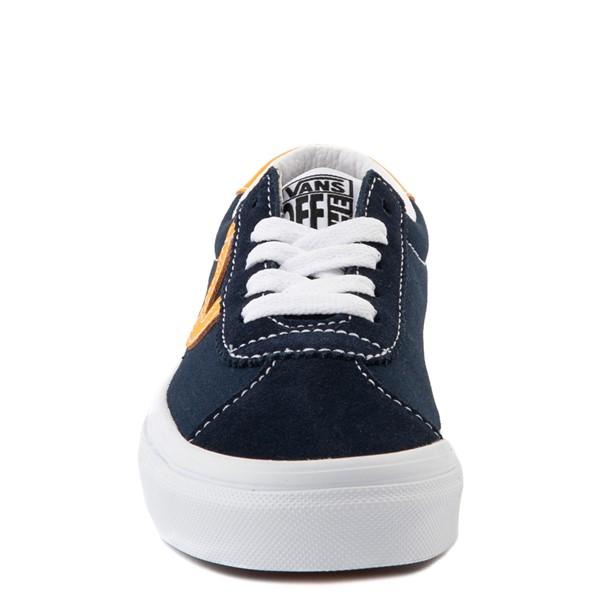 alternate view Vans Sport Skate Shoe - Little Kid - Dress Blues / SaffronALT4