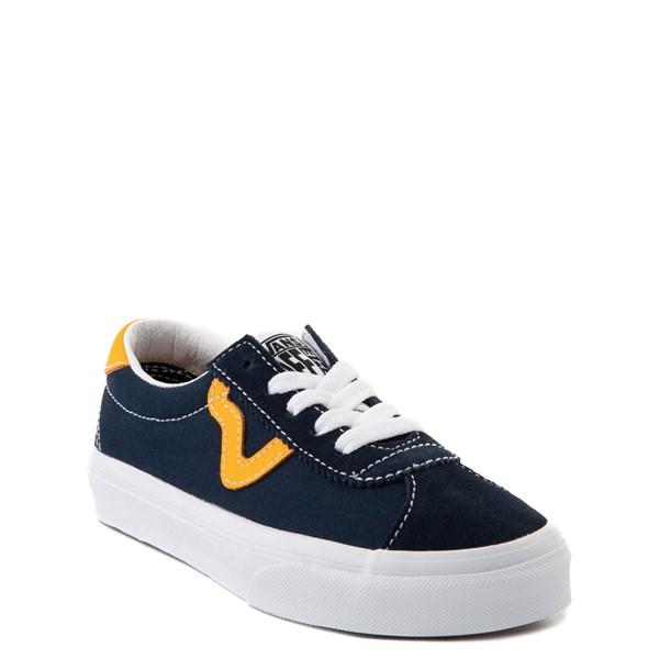 alternate view Vans Sport Skate Shoe - Little Kid - Dress Blues / SaffronALT5