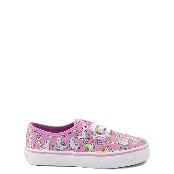 Vans Authentic Llama Skate Shoe - Little Kid - Orchid