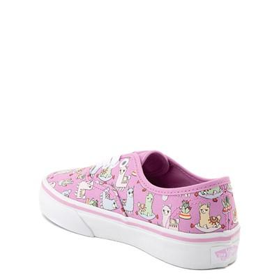 Alternate view of Vans Authentic Llama Skate Shoe - Little Kid - Orchid