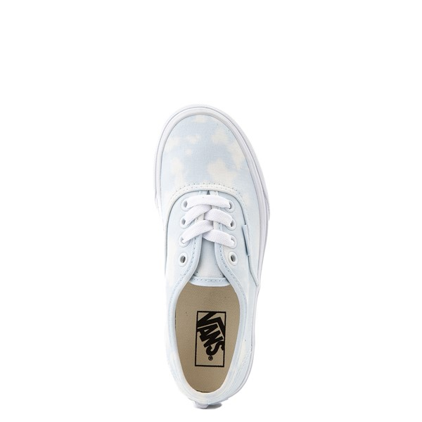 alternate view Vans Authentic Bleach Wash Skate Shoe - Little Kid - Ballad BlueALT2