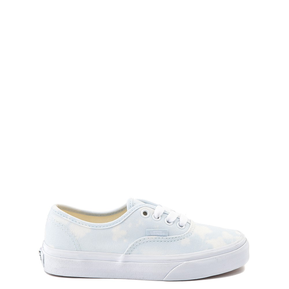 Vans Authentic Bleach Wash Skate Shoe - Little Kid - Ballad Blue
