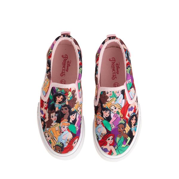 alternate view Ground Up Disney Princesses Slip On Sneaker - Little Kid / Big Kid - MulticolorALT2