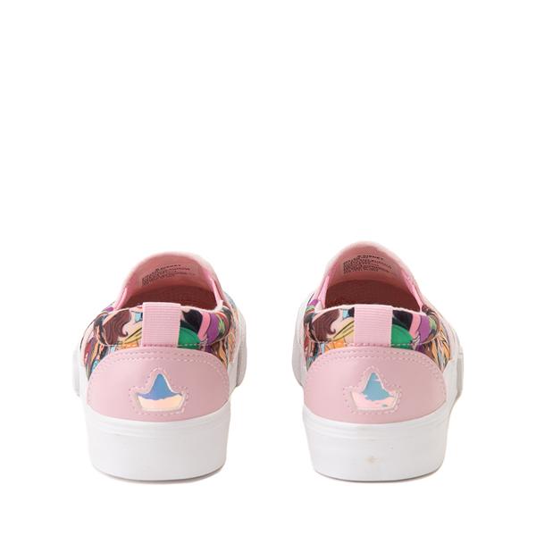 alternate view Ground Up Disney Princesses Slip On Sneaker - Little Kid / Big Kid - MulticolorALT4