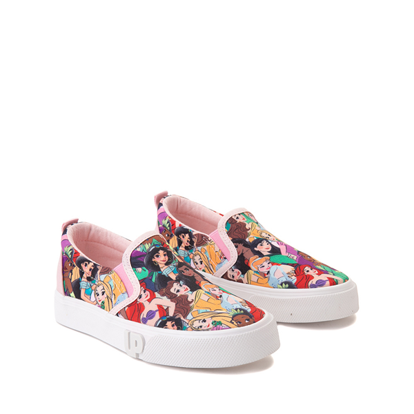alternate view Ground Up Disney Princesses Slip On Sneaker - Little Kid / Big Kid - MulticolorALT5