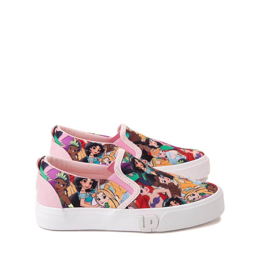 Ground Up Disney Princesses Slip On Sneaker - Little Kid / Big Kid - Multicolor