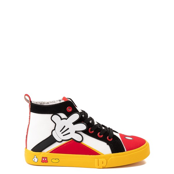 Main view of Ground Up Disney Mickey Mouse Hi Sneaker - Little Kid / Big Kid - Multicolor