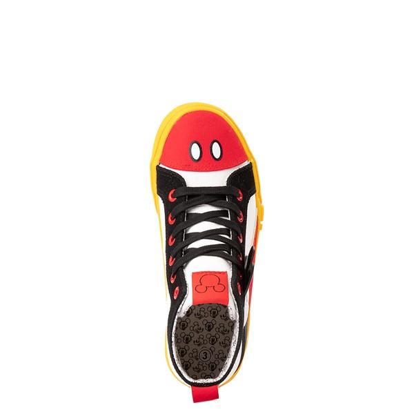 alternate view Ground Up Disney Mickey Mouse Hi Sneaker - Little Kid / Big Kid - MulticolorALT2