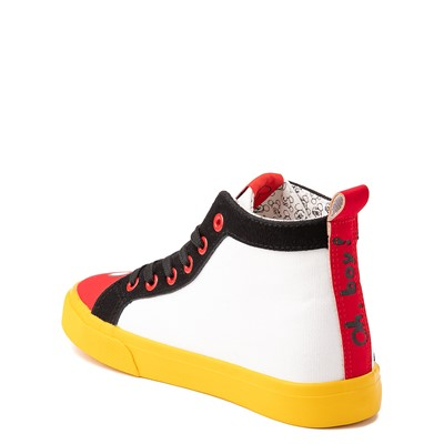 Alternate view of Ground Up Disney Mickey Mouse Hi Sneaker - Little Kid / Big Kid - Multicolor