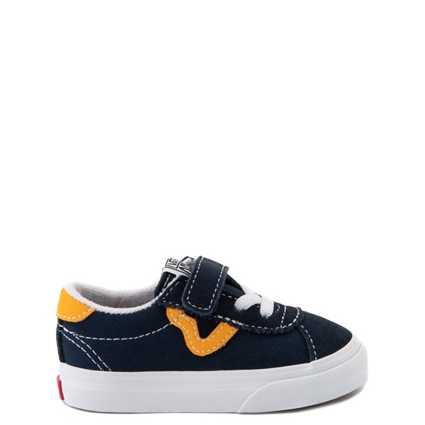 Vans Sport V Skate Shoe - Baby / Toddler - Dress Blues / Saffron