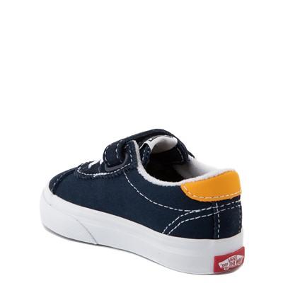 Alternate view of Vans Sport V Skate Shoe - Baby / Toddler - Dress Blues / Saffron