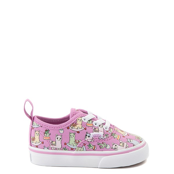 Main view of Vans Authentic Llama Skate Shoe - Baby / Toddler - Orchid