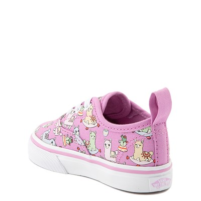 Alternate view of Vans Authentic Llama Skate Shoe - Baby / Toddler - Orchid