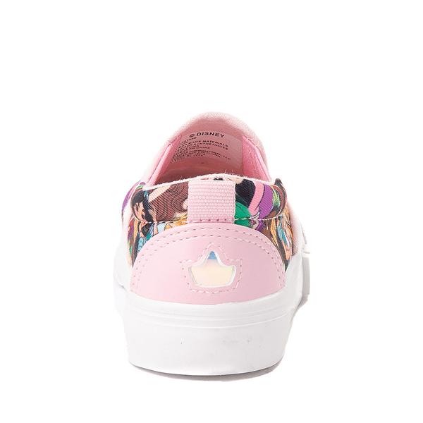 alternate view Ground Up Disney Princesses Slip On Sneaker - Toddler - MulticolorALT4