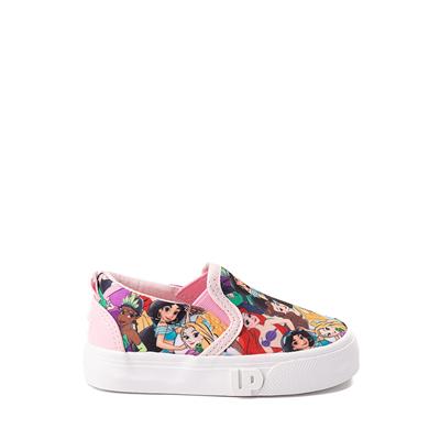 Alternate view of Ground Up Disney Princesses Slip On Sneaker - Toddler - Multicolor