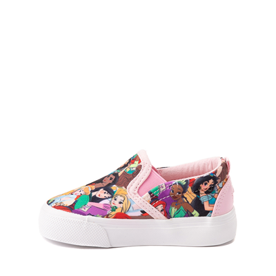 Alternate view of Ground Up Disney Princesses Slip On Sneaker - Toddler - Multicolor