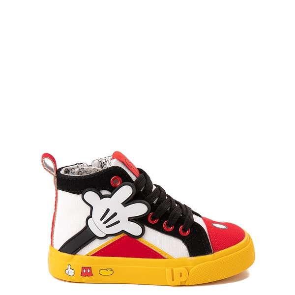 Main view of Ground Up Disney Mickey Mouse Hi Sneaker - Toddler - Multicolor