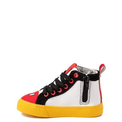 Alternate view of Ground Up Disney Mickey Mouse Hi Sneaker - Toddler - Multicolor