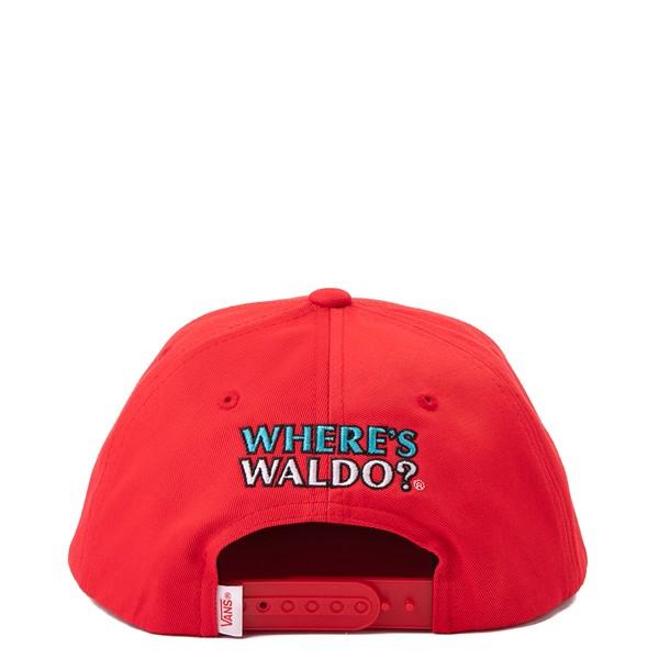 alternate view Vans x Where's Waldo Snapback Hat - Little Kid - Racing RedALT1