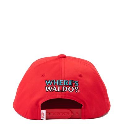 Alternate view of Vans x Where's Waldo Snapback Hat - Little Kid - Racing Red